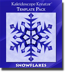 Snowflakes Template Pack