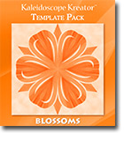 Blossoms Template Pack